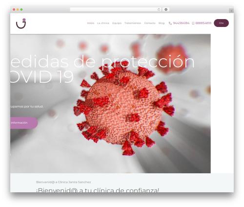 ProDent top WordPress theme - janirasanchez.com
