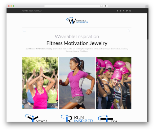 WordPress theme Betheme - wearableinspiration.com