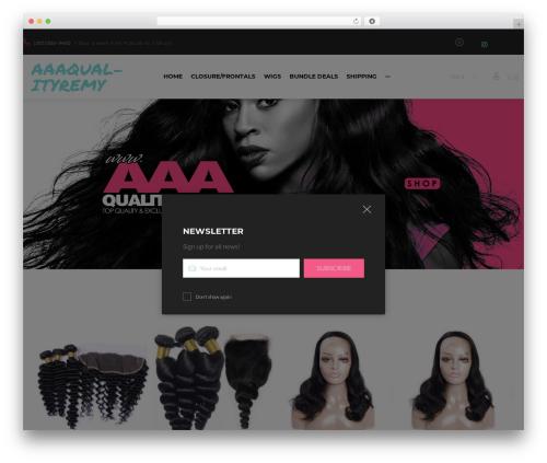 WordPress website template Cosmetro - aaaqualityremy.com