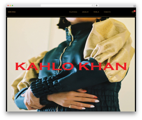 Zoa best WordPress template - kahlokhan.com