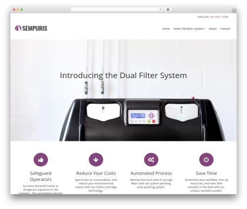 Pinnacle WordPress theme download - sempuris.com