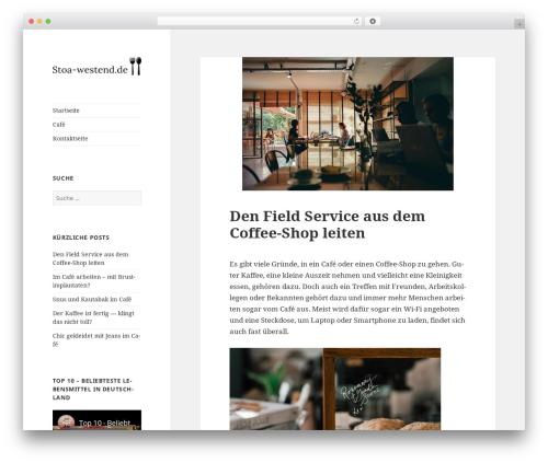 Progeny MMXV theme WordPress - stoa-westend.de