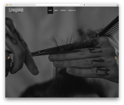 Revolver top WordPress theme - legendsofthetrade.com