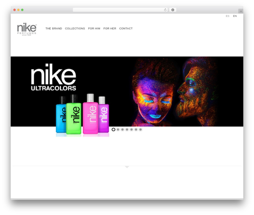 WordPress template WP Omnia - nikeperfumes.com