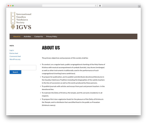 WP template Fleming - igvs.org