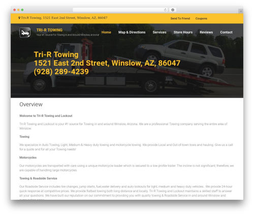 WP template Towy - trirtowing.com