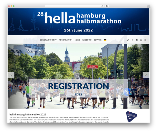 BMS WordPress theme - hamburg-halbmarathon.com