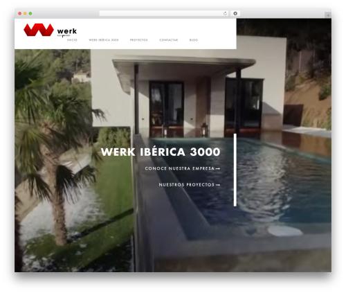 Domik template WordPress - werkiberica.com