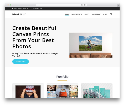 EmpowerWP PRO WordPress shop theme - braveprint.com