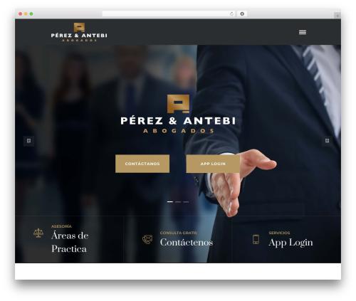 O'Connor WordPress template for business - perezyantebi.com