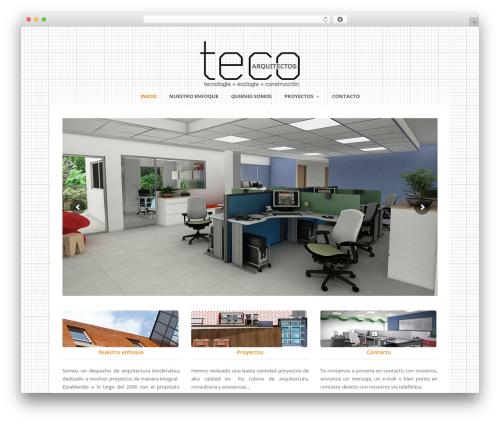 Template WordPress Total (shared on wplocker.com) - tecoarquitectos.com