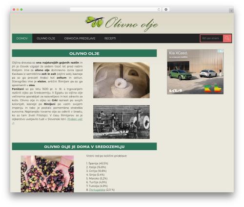 WordPress template CoolStuff - olivno-olje.net