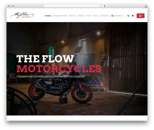 Best WordPress theme Bikersclub - theflowmotorcycles.com