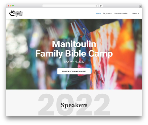 Neve WordPress theme - manitoulinfamilycamp.com