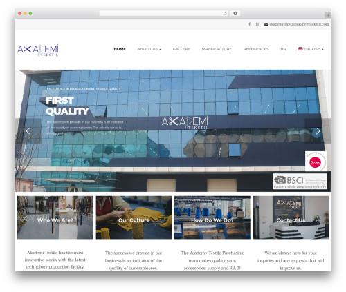 opalhomes theme WordPress - akademitekstil.com