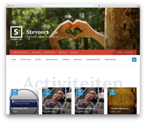 Pressville WordPress theme - stevoort.eu