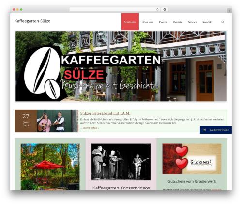 Renden free website theme - kaffeegarten-suelze.de
