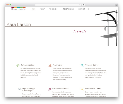 Best WordPress template Dessau - karalarsen.com