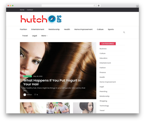 Best WordPress template Peflican - hutchgps.com