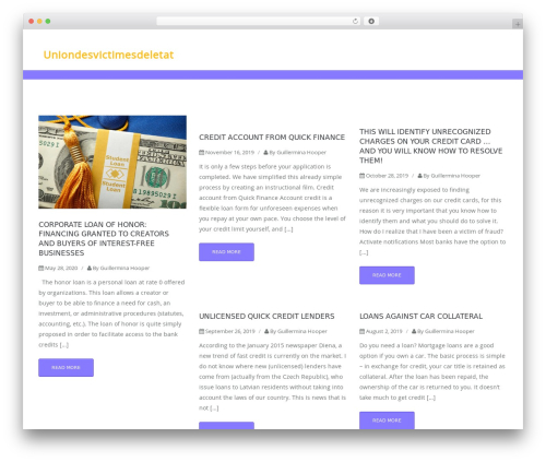 Blog Building WordPress blog theme - uniondesvictimesdeletat.com