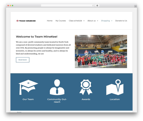Clean Education Pro WP template - minekee.com