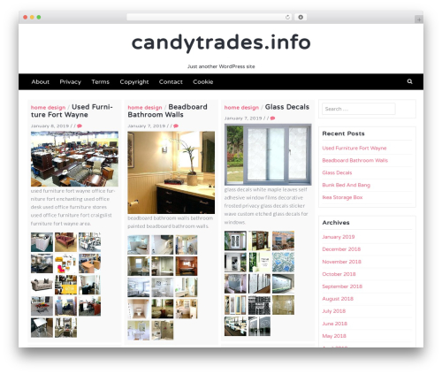Latest free WP theme - candytrades.info