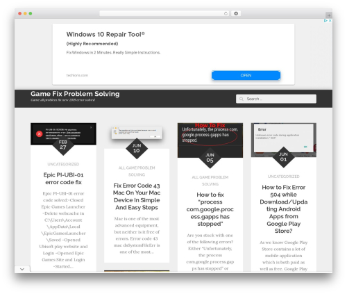 ReBlog WordPress blog theme by Moral Themes - page 5