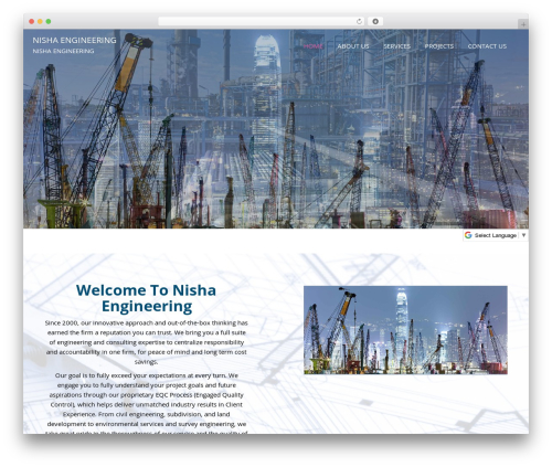 Template WordPress Beauty Studio - nishaengineering.com