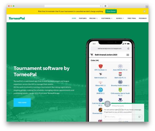 Template WordPress Movedo - torneopal.com