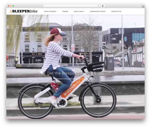Best WordPress theme Whitelabel - bleeperbike.com