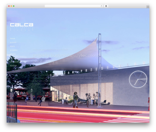 Bridge WordPress theme - calca.biz
