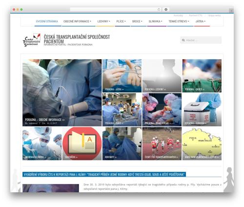 Magazine Hoot WordPress magazine theme - transplantace.eu