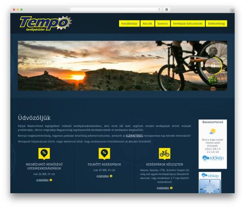 PressCore WordPress template - tempokerekpar.hu