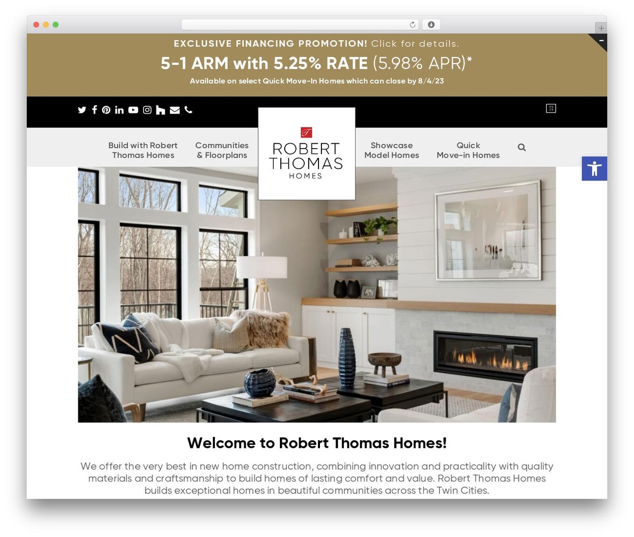 Total theme WordPress free - robertthomashomes.com