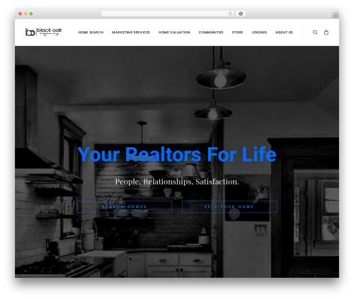 Uncode WordPress theme - blackoakagency.com