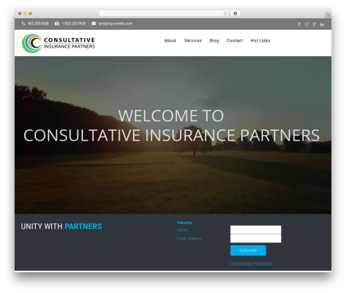 WordPress theme CIP - cip-omaha.com