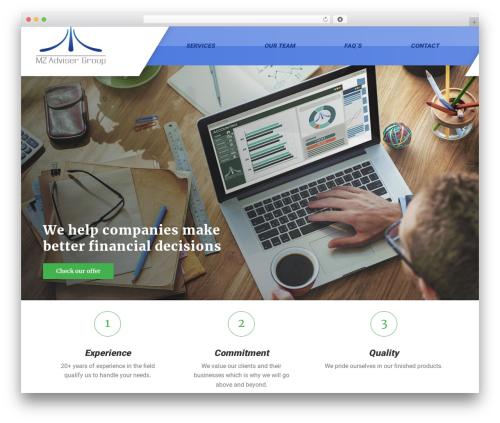 GymPress PT gym WordPress theme - mzadviser.com