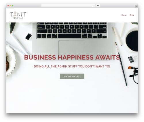 Sydney free WordPress theme - tanitvirtual.com