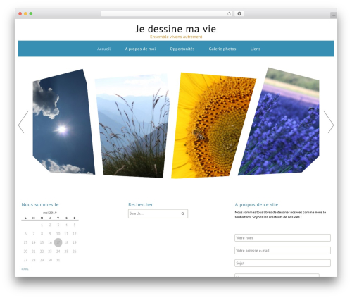 Best WordPress template ZenWater - jedessinemavie.com