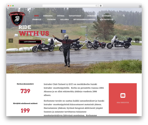 Bikersclub top WordPress theme - intruderclubfinlandry.fi