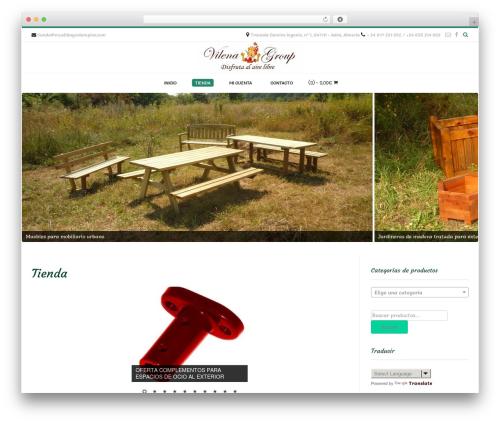 Conica template WordPress free - mueblesycolumpios.com