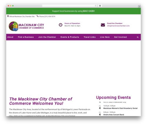 DPR Bruno WordPress ecommerce template - mackinawchamber.com