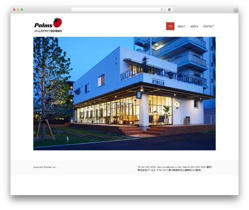 Tesla free WP theme - palms-d.com