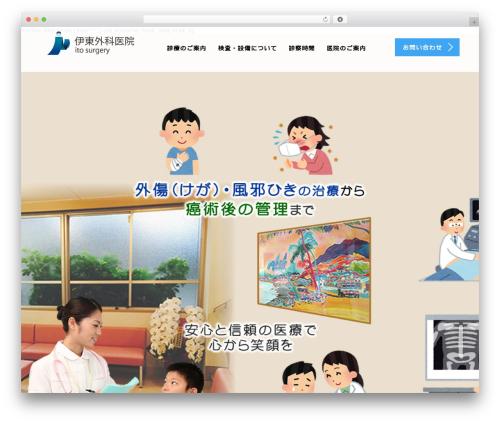 AGENT WordPress theme design - ito-surgery.com