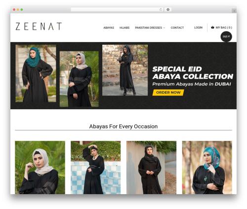 Best WordPress template Eyewear - zeenatcollection.com