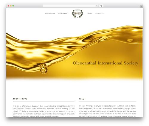 Best WordPress template Movedo - oleocanthalsociety.com