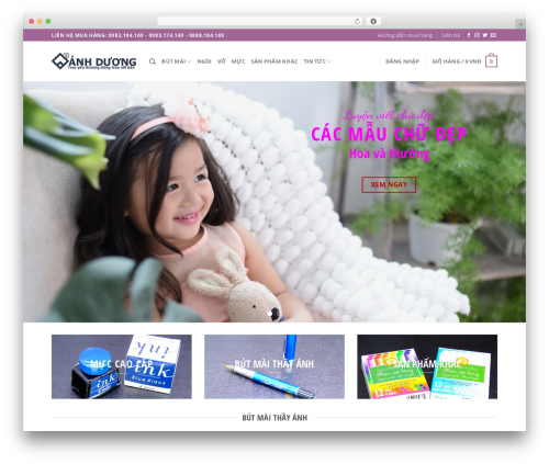 Flatsome WordPress page template - butmay.vn