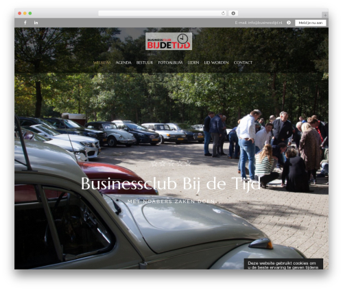 Theme WordPress HorseClub - businesstijd.nl