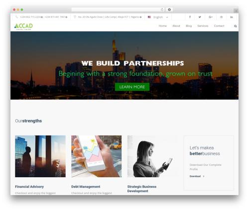 Theme WordPress Trade - accadcapital.com