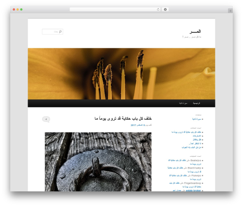 Twenty Eleven best free WordPress theme - almurr.com